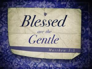 Matthew 5v5 A True Christian Will Be Meek