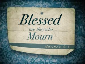 Matthew 5v4 A True Christian Mourns Sin