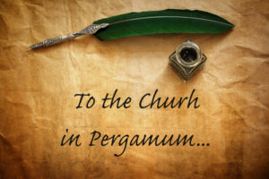 letter to the church in Pergamum - revelation