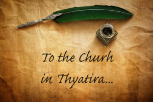 the church in Thyatira - Revelation