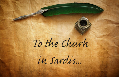 letter to the church in Sardis - revelation