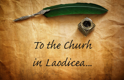 letter to the church in Laodicea - revelation