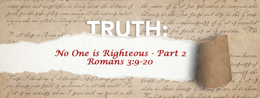 Romans 3:11-17 banner