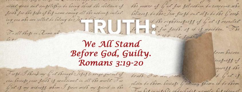 Romans 3:19-20 banner