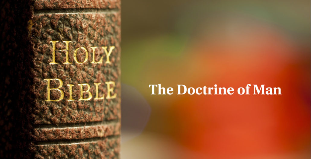 doctrine of man master