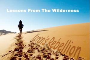 Numbers 16v1-35 Korah's Rebellion
