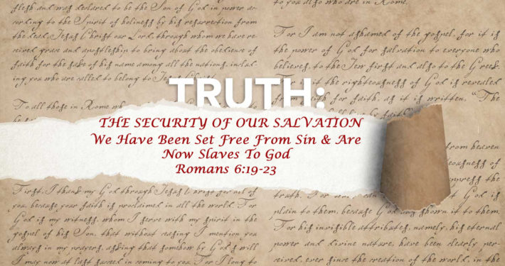 Romans 6:19-23 banner