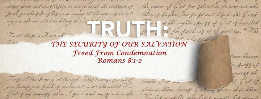 Romans 8:1-2 banner