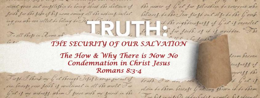 Romans 8:3-4 banner
