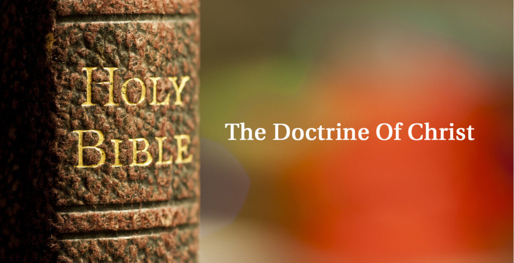 Doctrine of Christ