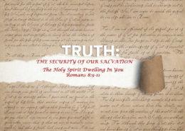 Romans 8:9-11 banner