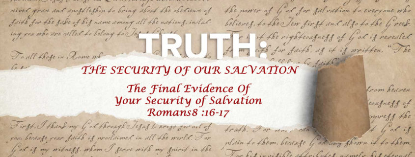 Romans 8:16-17 banner