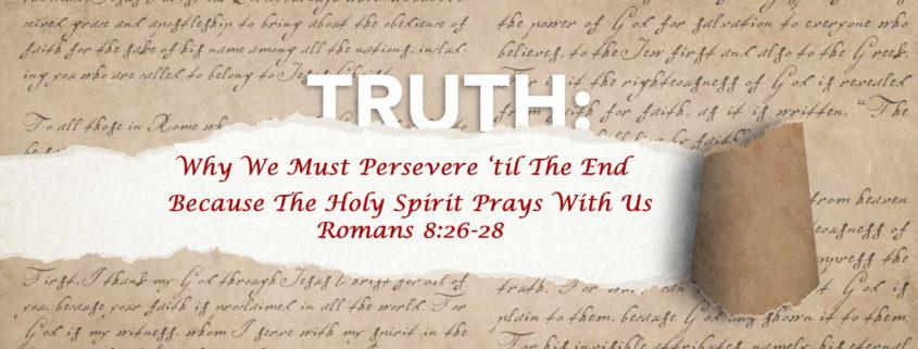 Romans 8:26-27 banner