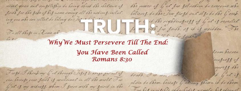 Romans 8:30 banner