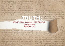 Romans 8:30 glorification banner
