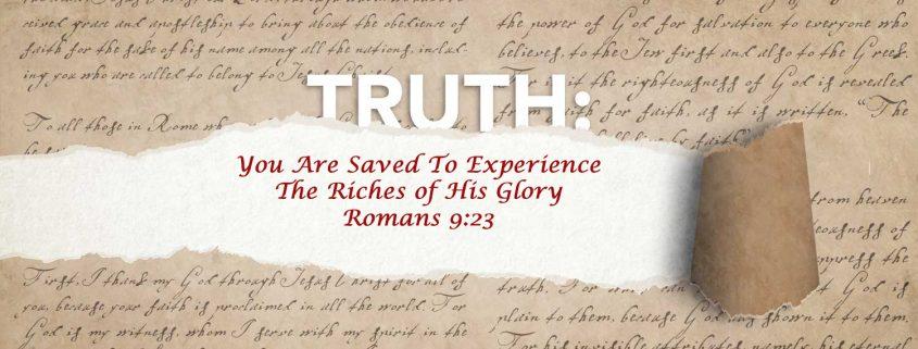 Romans 9:23
