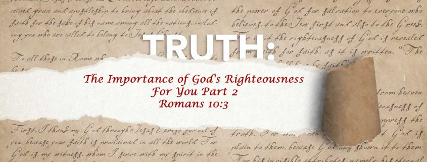 Romans 10:3 banner