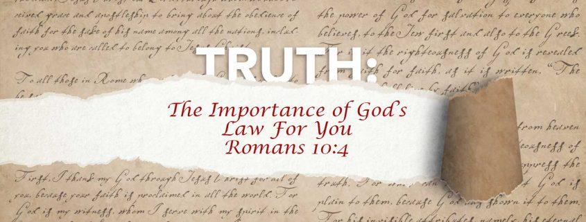 Romans 10:4 banner