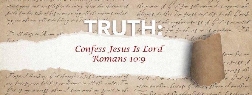 Romans 10:9 banner