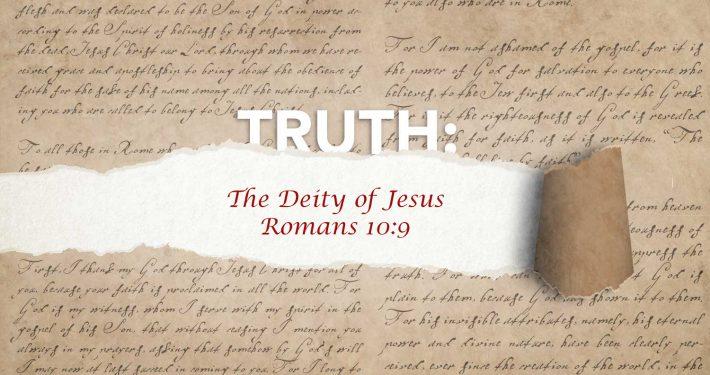 Deity of Jesus banner