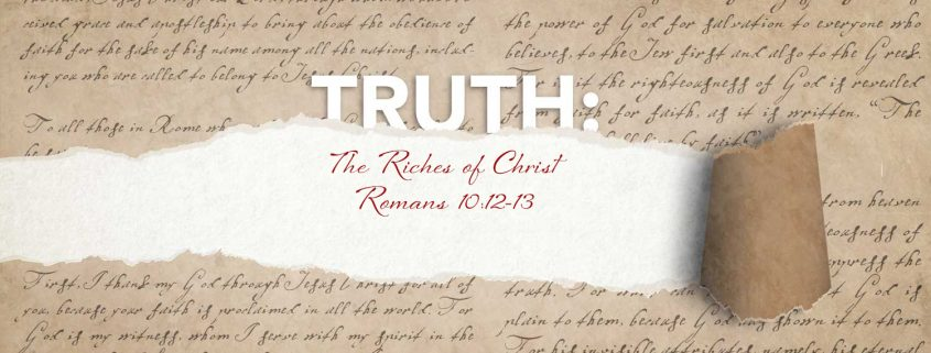 Romans 10:12-13 banner