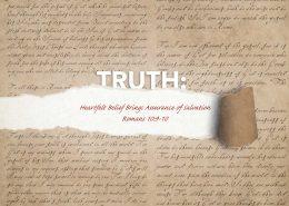 Assurance of Salvation Banner