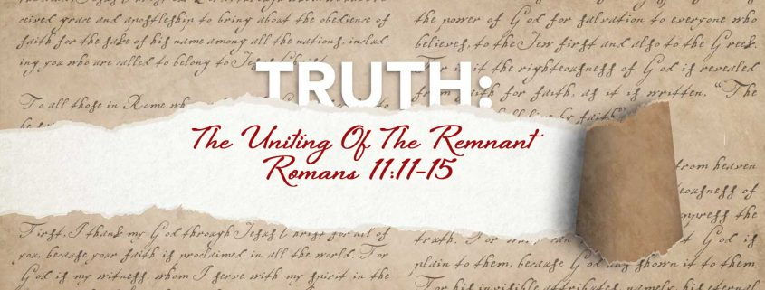 Romans 11:11-15 banner