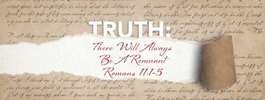 Romans 11:1-5 banner