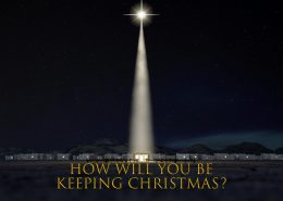 How will you be keeping christmas banner Matthew 1:21