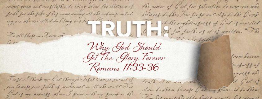 Romans 11:33-36 banner