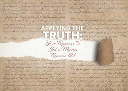 Romans 12:1 banner