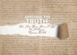Romans 12:3-8 banner