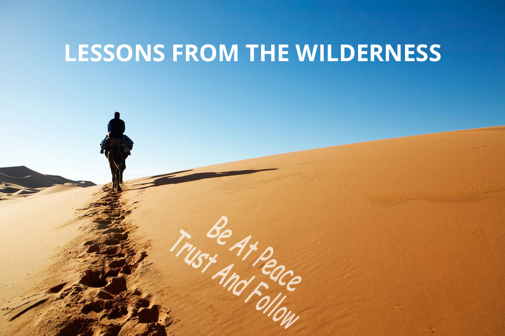 Read more about the article Exodus 14 Be At Peace, Trust And Follow