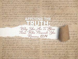 Romans 12:14 banner