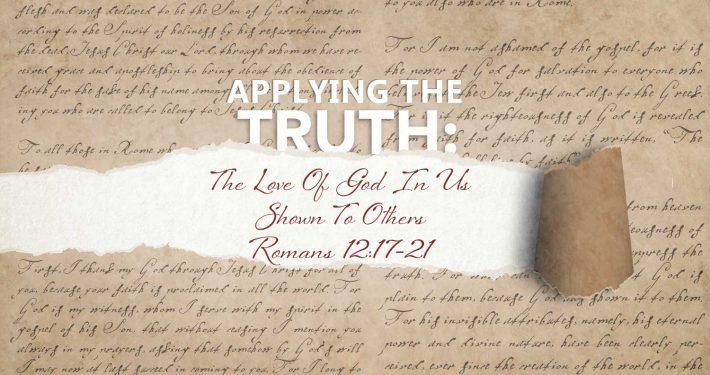 Romans 12:17-21