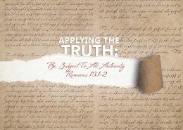 Romans 13v 1-2