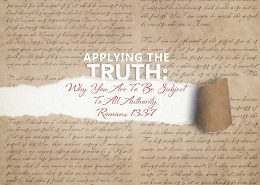 Romans 13v3-7
