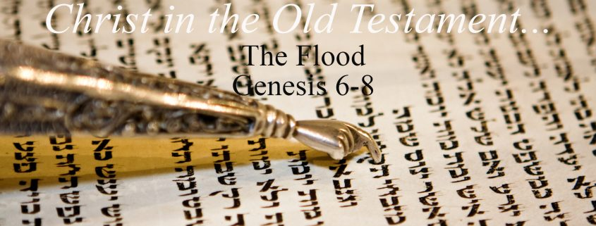 the flood - Christ in the old testament Genesis 6