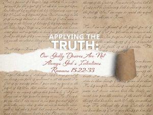 Romans 15:22-33 banner