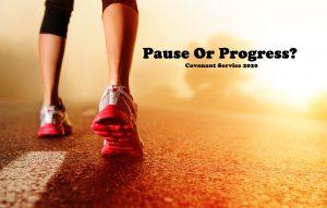 Ephesians 4 v 17-32 Pause Or Progress