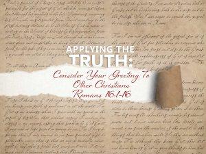 Romans 16:1-16 cover