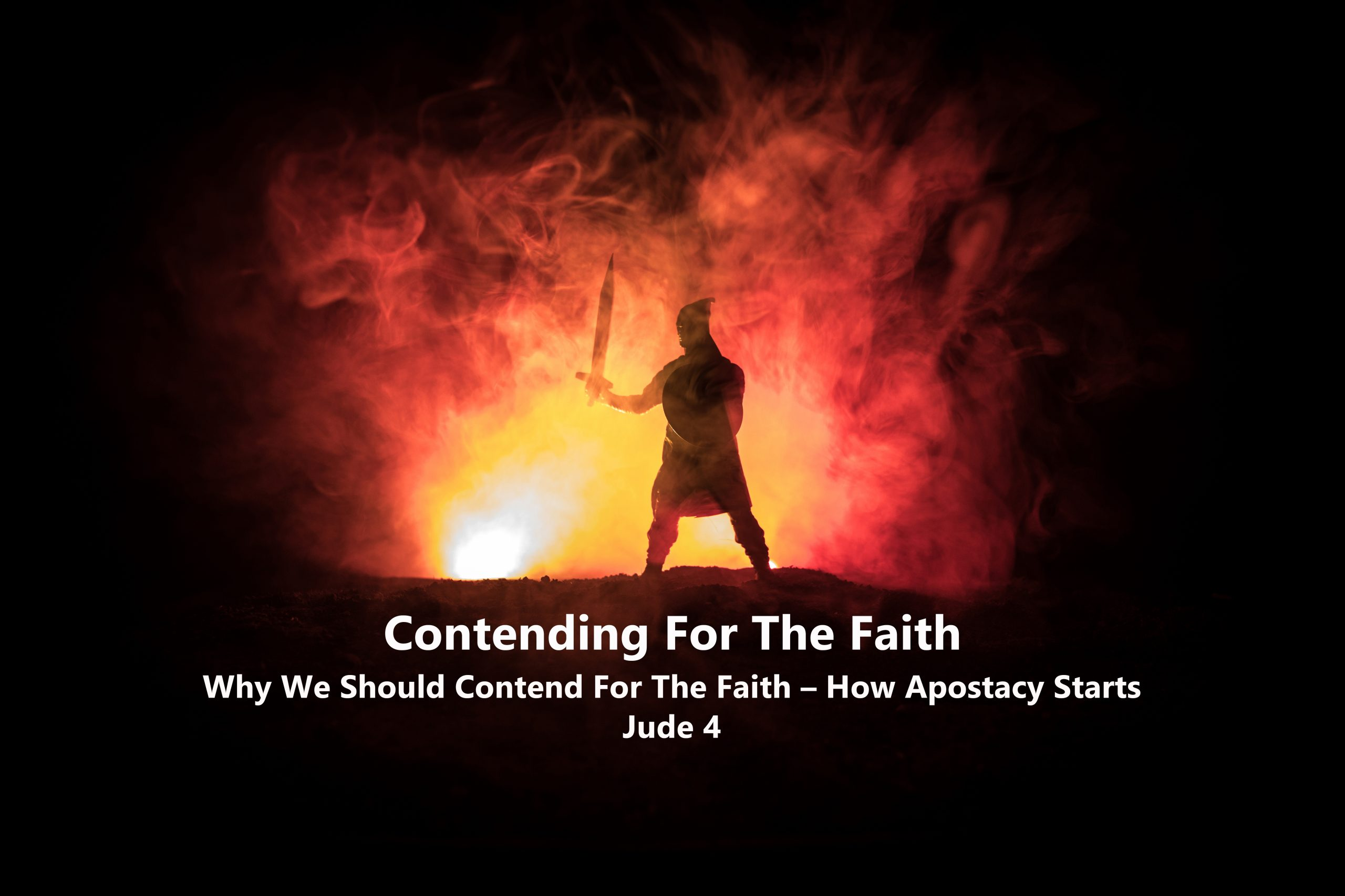 You are currently viewing Jude V 4 – How Apostasy Starts