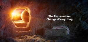 The Empty Tomb after the resurrection of Christ
