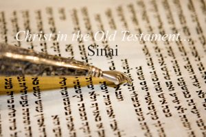 Read more about the article Exodus 33v12-23 Christ On Mount Sinai