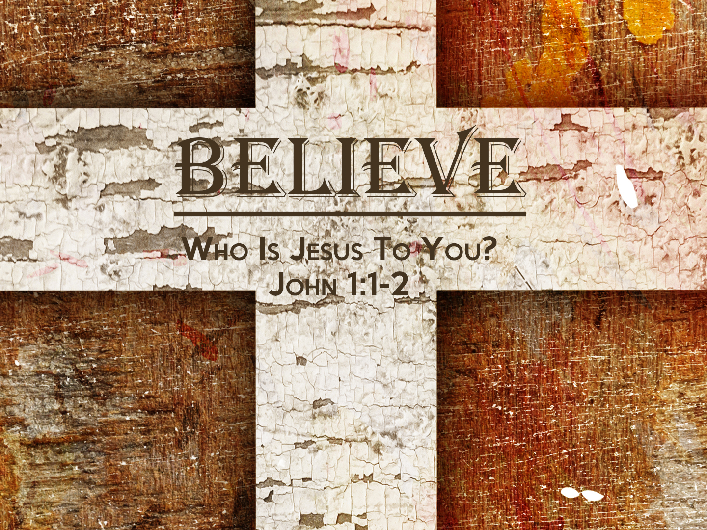 Read more about the article John 1v1-2 Who Is Jesus To You?