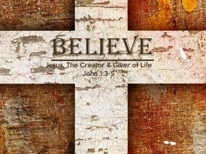 John 1:3-5 Banner