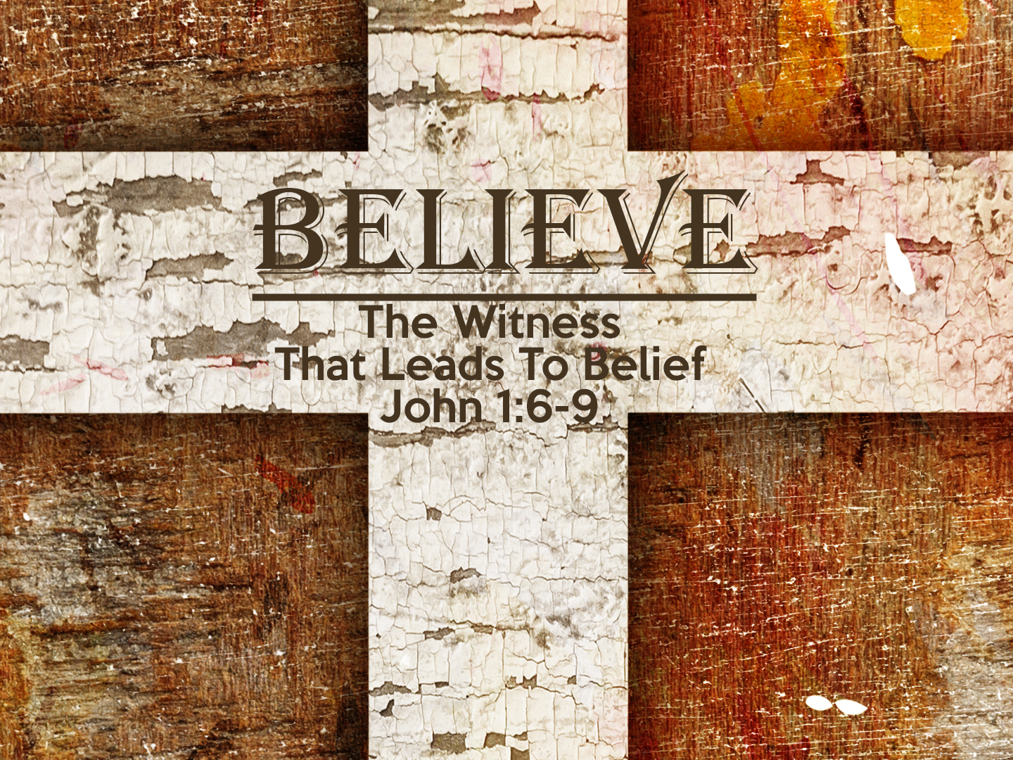 Read more about the article John1v6-9 The Witness That Leads To Belief