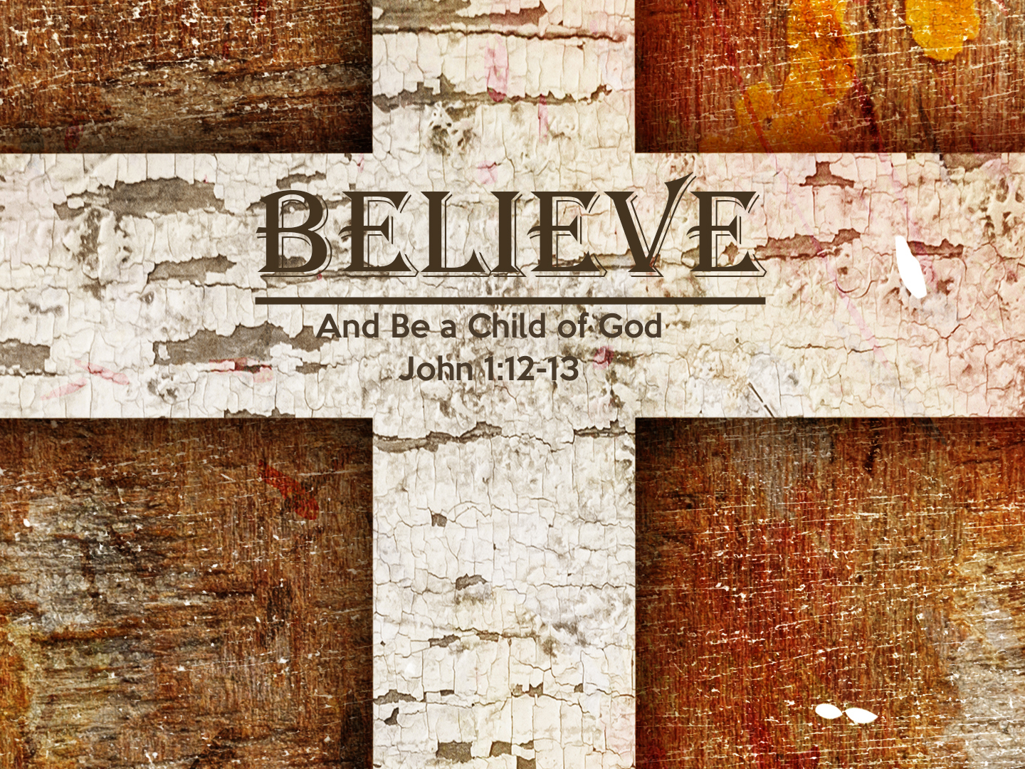 Read more about the article John 1v12-13 Believe And Be A Child Of God